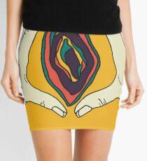 Vagina Vulva Art Mini Skirt