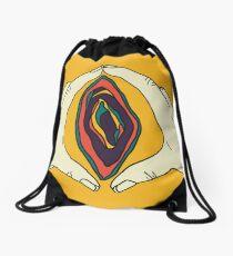 Vagina Vulva Art Drawstring Bag