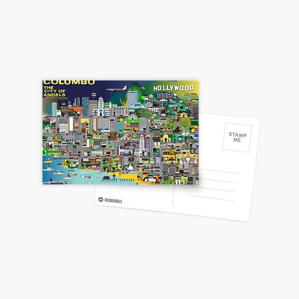 Columbo La Cité des Anges Carte postale
