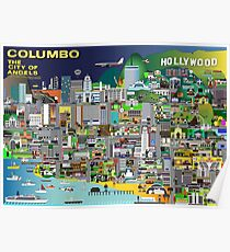 Columbo The City of Angels Poster