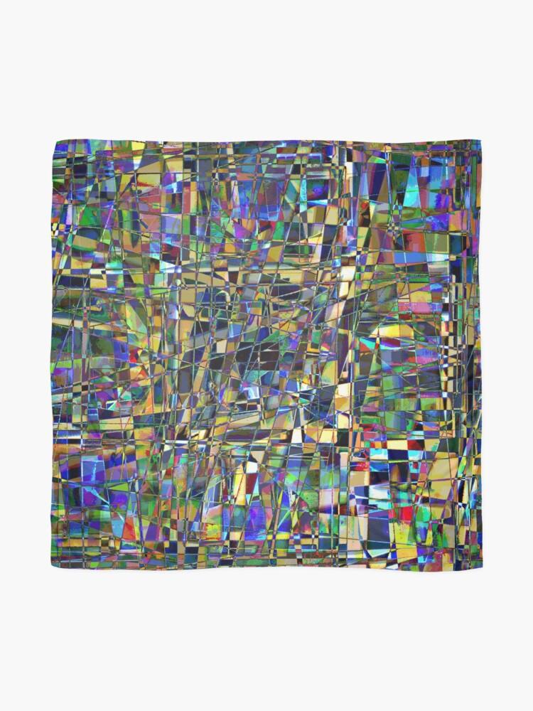 Alternate view of Kaleidoscope #6 Scarf