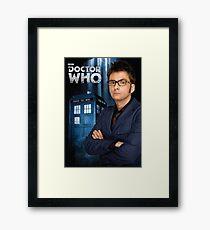Doctor ten - doctor who Framed Print