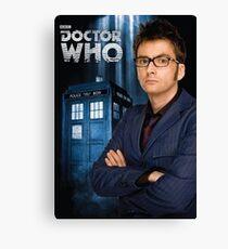 Doctor ten - doctor who Canvas Print