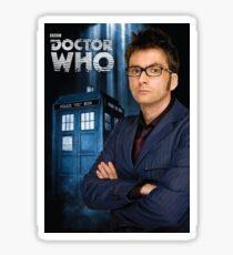 Doctor ten - doctor who Sticker