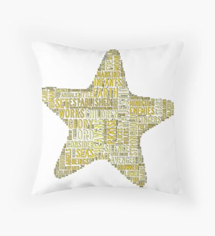 Psalm 8 Throw Pillow
