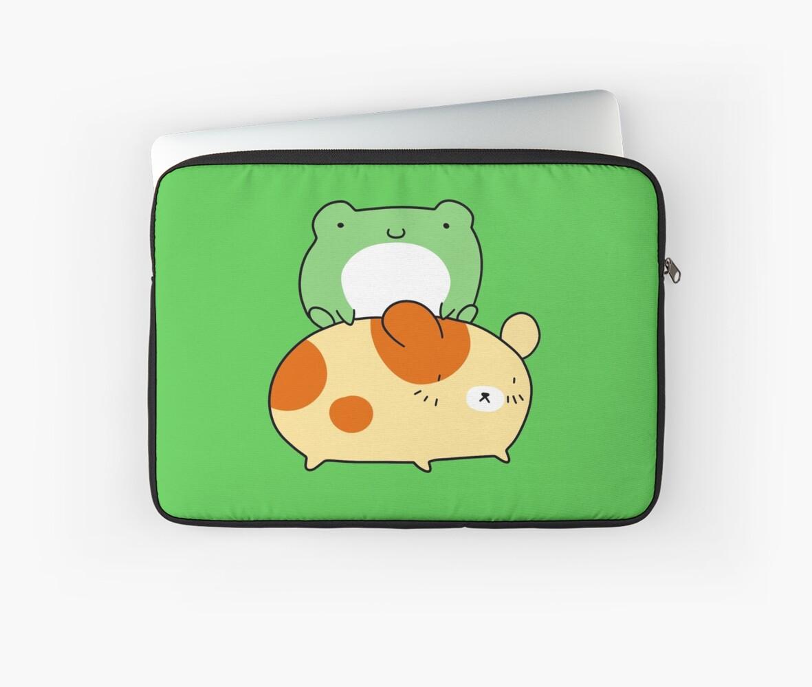 Little Frog and Hamster by SaradaBoru