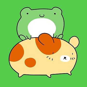 Little Frog and Hamster by SaradaBoru