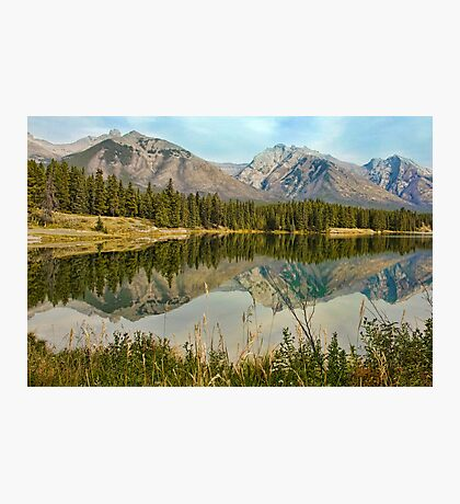 Johnson Lake, Banff Photographic Print