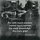 Contemplation on Ecclesiastes 1:18 by Albert