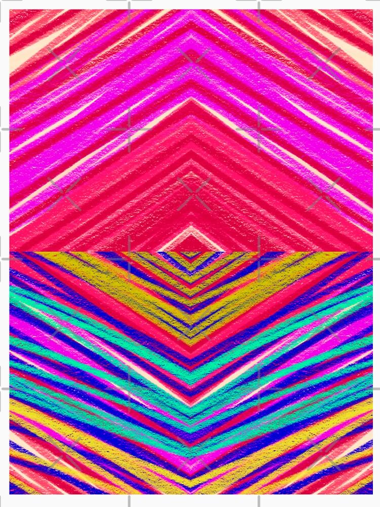 Psychedelic Rainbow by aremaarega