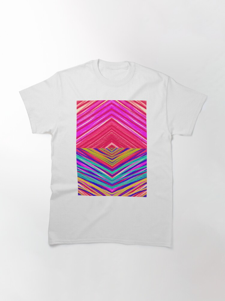 Alternate view of Psychedelic Rainbow Classic T-Shirt