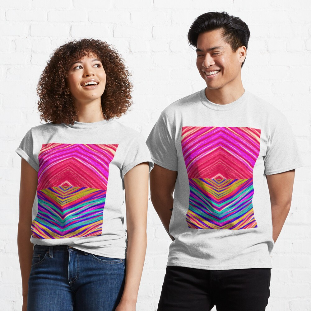 Psychedelic Rainbow Classic T-Shirt