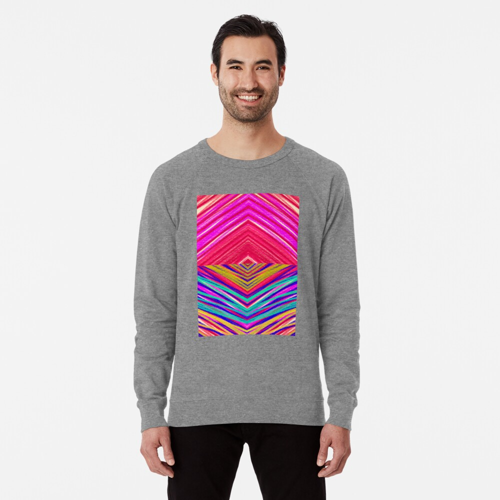 Psychedelic Rainbow Lightweight Sweatshirt