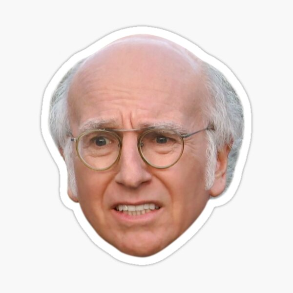Larry David - 6 Sticker