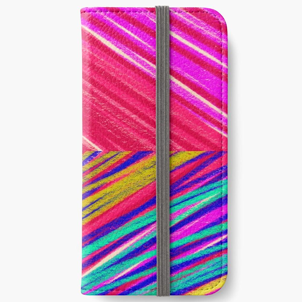 Psychedelic Rainbow iPhone Wallet