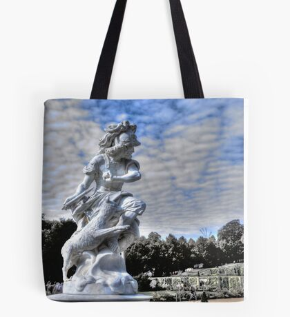 Garden statue at Sanssouci palace In Potzdam Germany Tote Bag