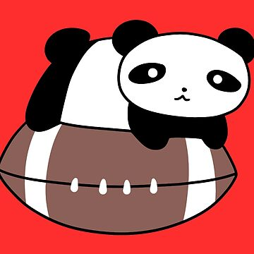 Little Panda and Football  by SaradaBoru