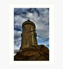 SOLIDOR TOWER EMERGING STRONG Art Print