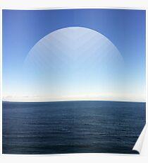 Virtual Moon Poster