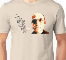 Hunter S. Thompson - The Banshee Screams for Buffalo Meat Unisex T-Shirt