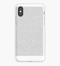 Every Lyric from Harry Styles Album iPhone Case/Skin