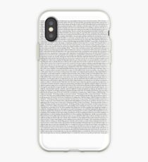 Every Lyric from Harry Styles Album iPhone Case