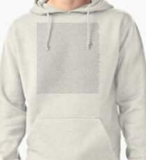 Every Lyric from Harry Styles Album Pullover Hoodie