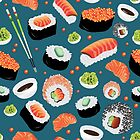 Sushi delight by 300-Rads