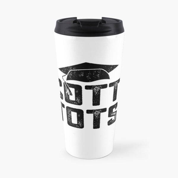 SCOTT'S TOTS Michael Scott The Office NBC TV Show funny gift Travel Mug