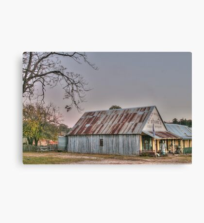 Hill End store Canvas Print