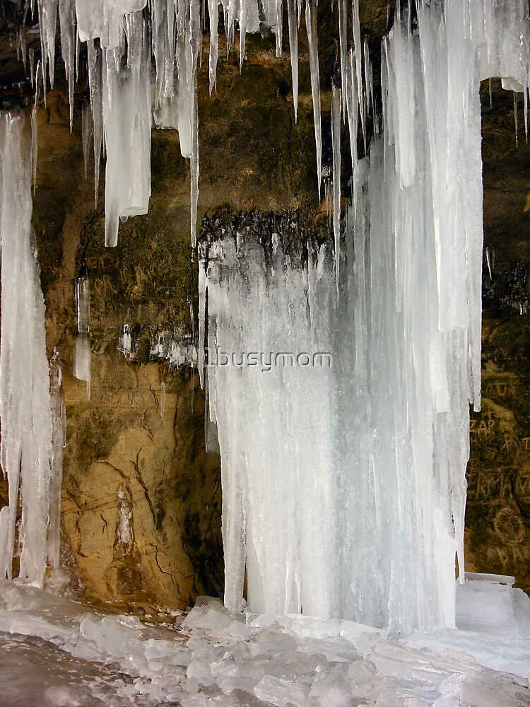 wall of icicles by 1busymom