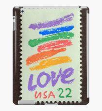 1985 22¢  Love Crayon Postage Stamp iPad Case/Skin