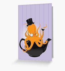 Oc-tea-pus Greeting Card