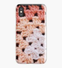 Day 1 - 365 days of crochet squares iPhone Case/Skin
