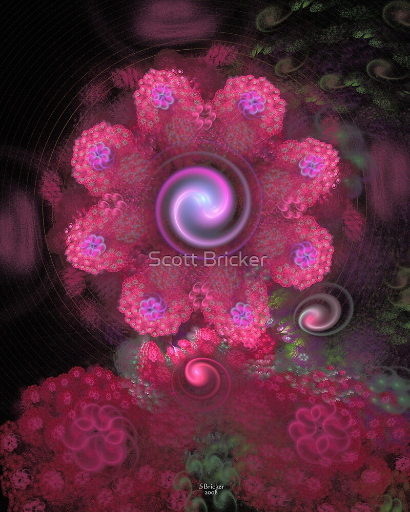 'Lightflower Rose (Time After Time)' by Scott Bricker