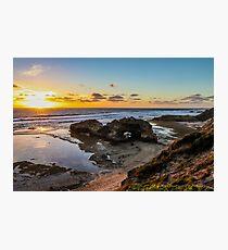 London Bridge, Portsea, Mornington Peninsula, Victoria, Australia  Photographic Print