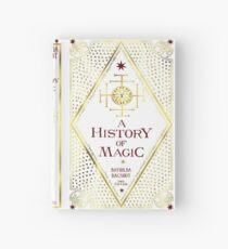 Cuaderno de tapa dura una historia de magia.