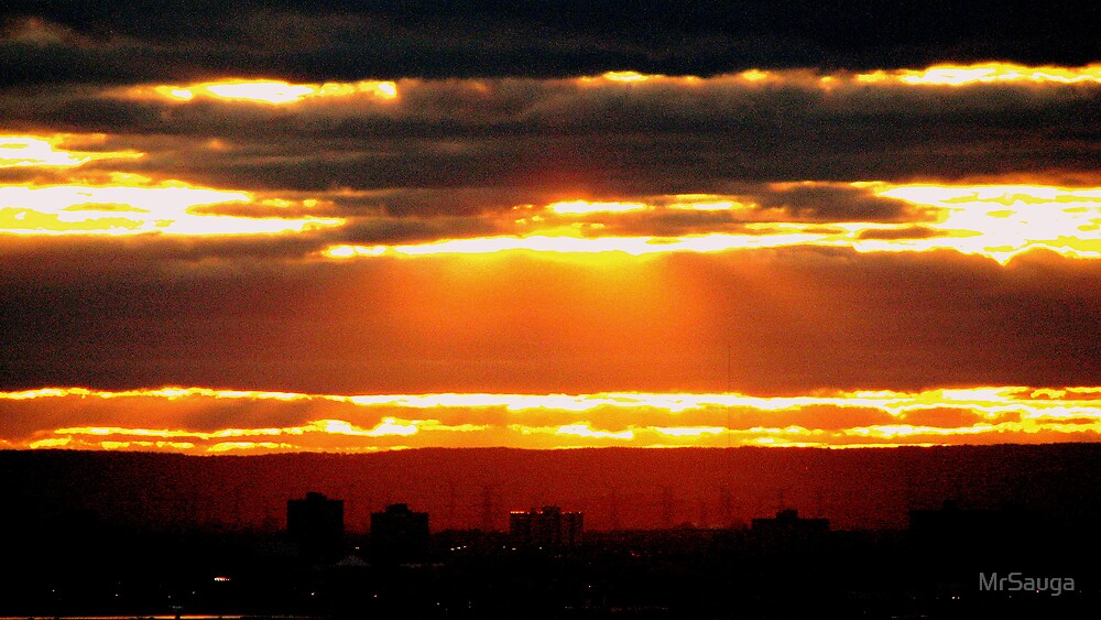 sunset 3 by MrSauga