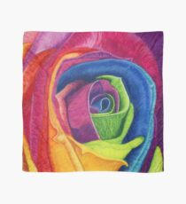 WIDE AWAKE (Rainbow Rose) Scarf