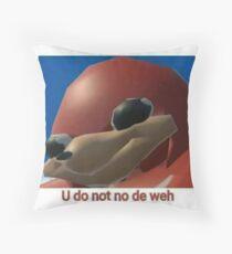 Ugandan Knuckles Throw Pillow