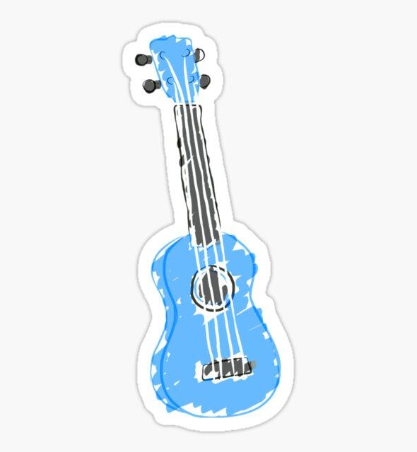 light blue ukulele by pasengo