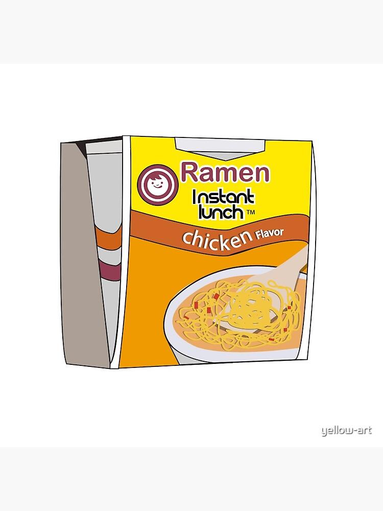 instant ramen noodle design! by yellow-art