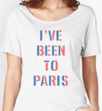 I've Been To Paris Shirt Women's Relaxed Fit T-Shirt