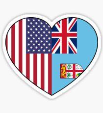 UAS & Fiji Sticker