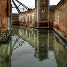Arsenale Harbour, Venice. Italy by hans p olsen
