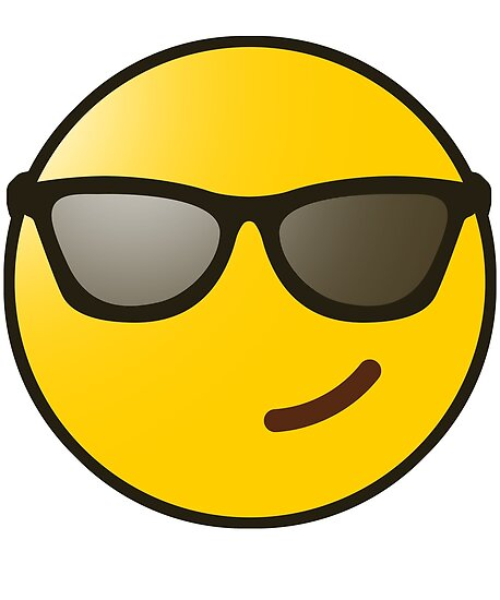 Emoji» Póster De «gafas Sol UltraleanbodyRedbubble jUzSMLqVpG