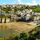 """Port Isaac, Cornwall - home of """"Doc Martin"""". by hans p olsen"""