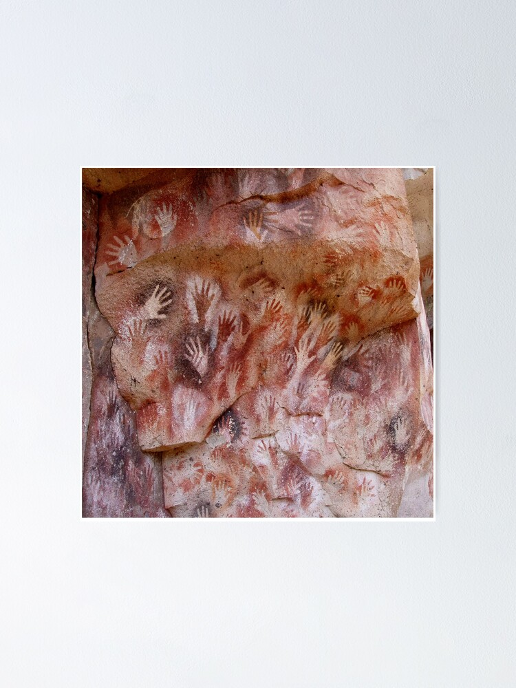 Alternate view of #Cave #painting, #parietal #art, paleolithic cave paintings Poster