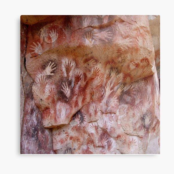 #Cave #painting, #parietal #art, paleolithic cave paintings Metal Print