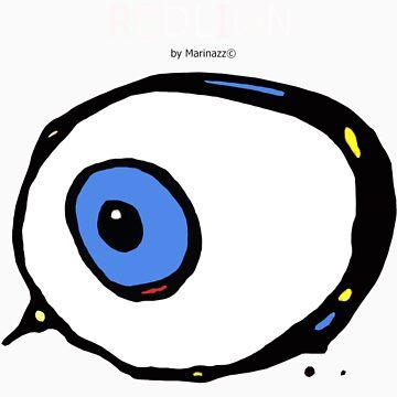 Redlion eye by marinazz